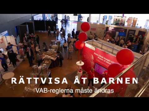 Anna Manell om VAB för föräldrar till barn med diabetes