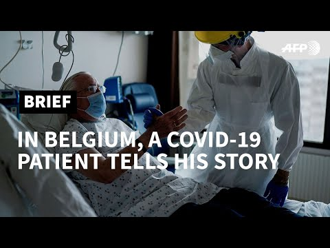 Belgian man shares painful COVID-19 recovery | AFP photo