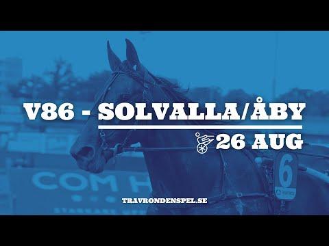 V86 tips - Solvalla/Åby - 26 augusti 2020