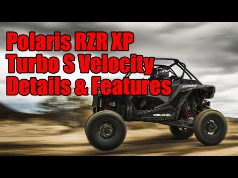 2019 Polaris RZR XP Turbo S Velocity Details and Features