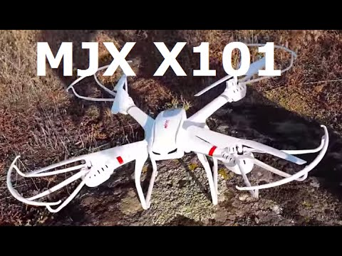 MJX X101 обзор и первый полет - UCUwLWtcOHxr-e7siVG9TvlA