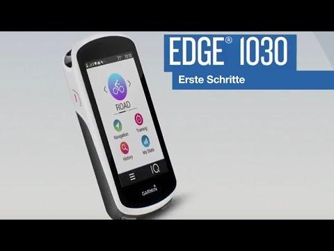 Garmin Edge® 1030 Tutorial – Erste Schritte