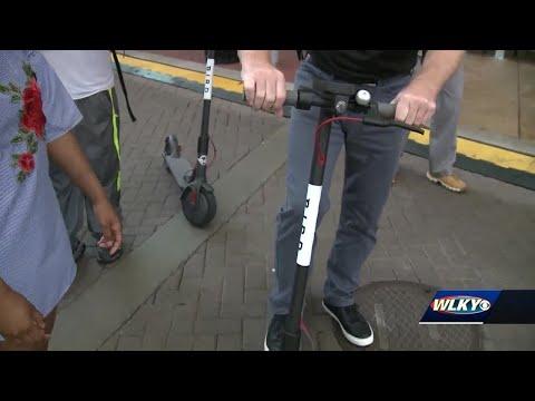 Bird scooters re-launch in Louisville