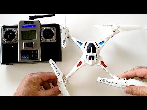 NIHUI U807 QuadCopter Drone Review - [Setup, Flight Test, Pros & Cons] - UCVQWy-DTLpRqnuA17WZkjRQ