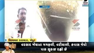 Low Rainfall Threatens Farmer On Farm Crop output ॥ Sandesh News TV