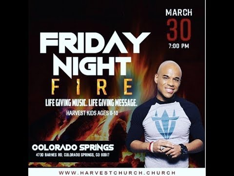 Friday Night Fire Colorado Springs - March 30, 2018 - Bishop Foreman