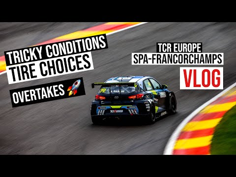 CHALLENGING CONDITIONS AT SPA-FRANCORCHAMPS | VLOG 42