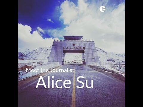Meet the Journalist: Alice Su