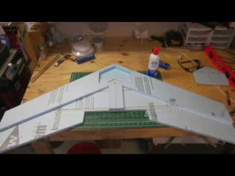 "Scratch build 47"" flying wing - UCttnTliST-PRyEee5ogVOOQ"