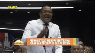 Proceso antes de juramentar de Radhamés Camacho como presidente de la cámara de diputados Parte 3