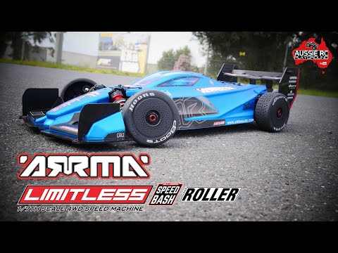 ARRMA Limitless 1/7 Scale Speed Car - Phase One Complete - UCOfR0NE5V7IHhMABstt11kA