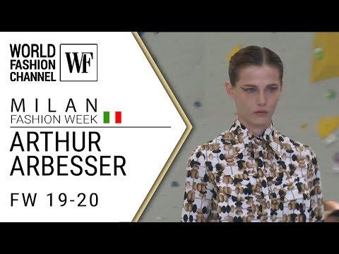 Arthur Arbesser Fall-winter 19-20 MFW