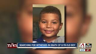 Community members search for potential witnesses in shooting of 8-year-old boy