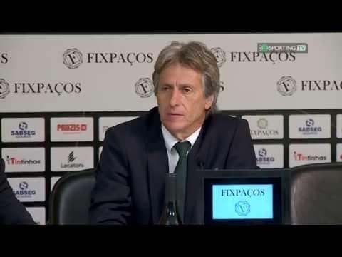 Conferência Jorge Jesus - pós Jogo - Paços de Ferreira X Sporting CP