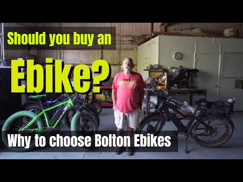 Should you buy an electric bike?  [Bolton Ebikes]