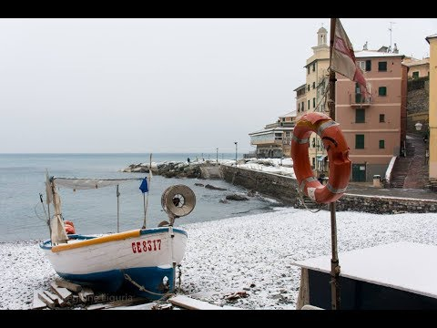 La neve a Genova