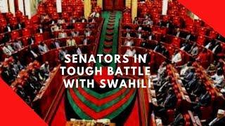 Senators hilariously debate on use of proper Swahili