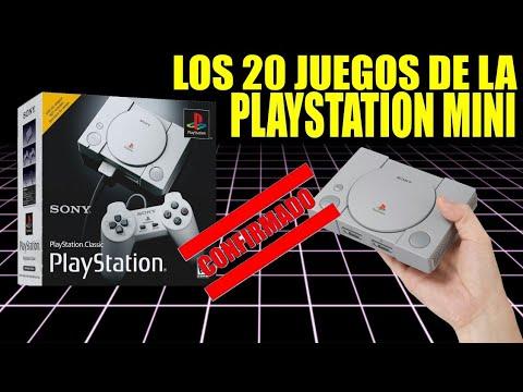 LOS 20 JUEGOS DE LA PLAYSTATION MINI