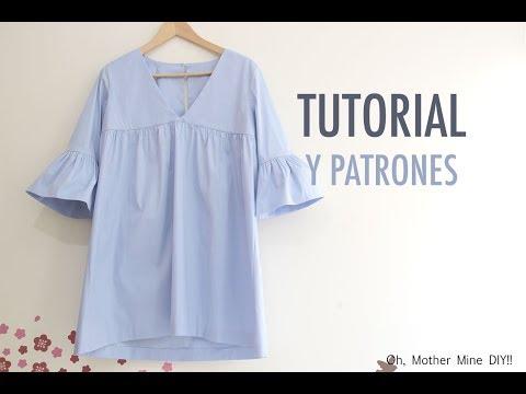 Costura: Vestido para mujer (patrones gratis)