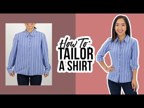 How to Tailor a Shirt | Thrifted Transformations