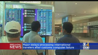 US Customs Back Online After Computer Issues Led To Long Lines For International Passengers At Airpo