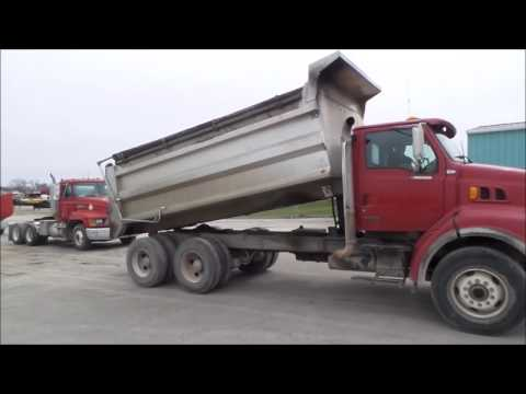 2000 Sterling L8513 dump truck for sale | no-reserve Internet auction May 11, 2017