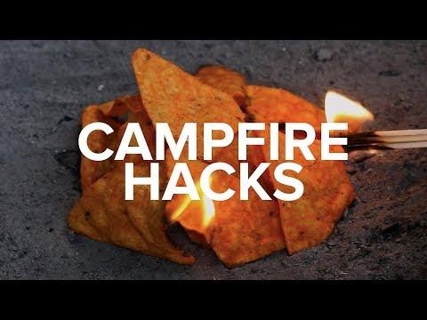 How To Start A Campfire...Using Doritos?