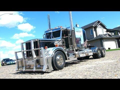 RC ADVENTURES - Stretched Chrome Semi Truck - Tamiya - UCxcjVHL-2o3D6Q9esu05a1Q