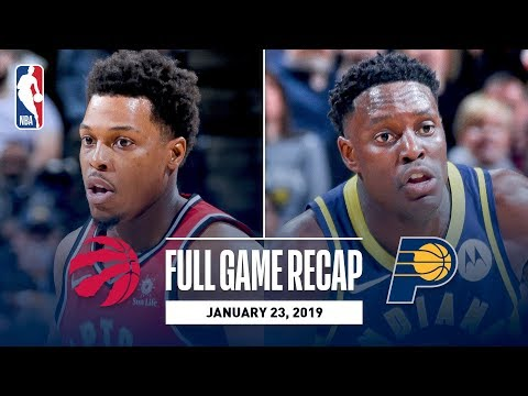 Full Game Recap: Raptors vs Pacers | Toronto & Indiana Go Down To The Wire