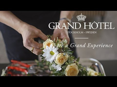 How to make beautiful head garlands | The Grand Hôtel Tutorial