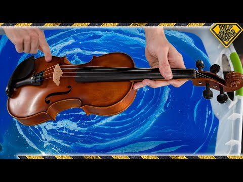 Will A Violin Survive Hydro-Dipping?