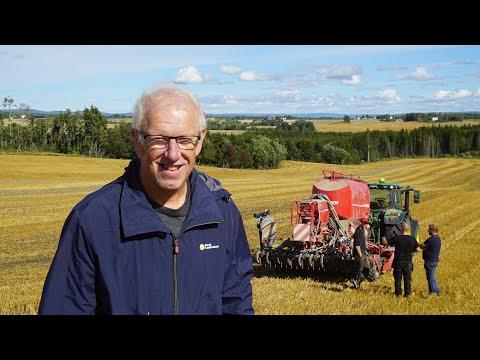 Såmaskinprat med Jan Stabbetorp fra Norsk Landbruksrådgiving