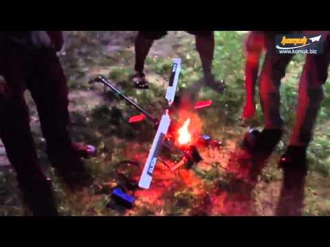 RC Heli Kırım Videoları- ESC ve Pil Yangınları