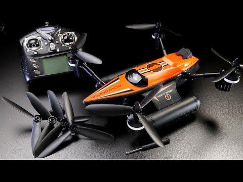 WLtoys Q353 Triphibian RC boat car quad features, flights, full review - UCndiA86FXfpMygSlTE2c70g