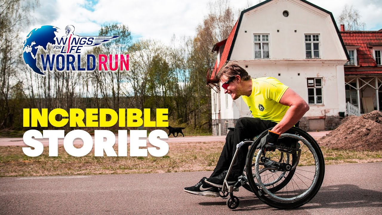 5 Unbelievably Inspiring Stories | Wings for Life World Run