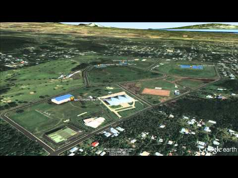 Summit Energy Conference Google Earth Flyover Samoa