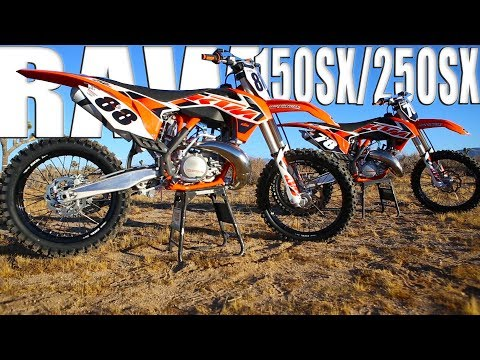 2015 KTM 150/250 2 Strokes Raw - Motocross Action Magazine