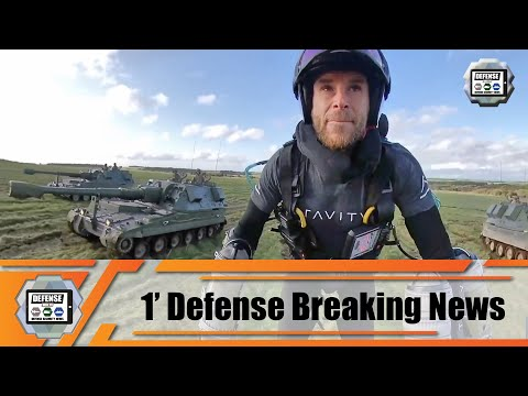 British army artillery unit tests Jet Suit backpack to trial concept of rapid support on battlefield