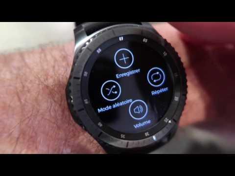 Spotify sur Samsung Gear S3