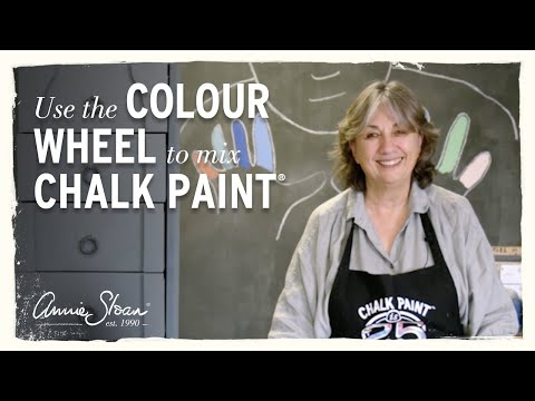 How to use the Colour Wheel to mix Chalk Paint®
