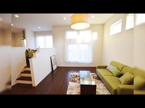 函館市 松川町モデルハウス スキップフロア3階建て 『つみ木』