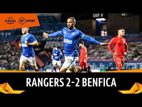 Rangers v Benfica (2-2) | Europa League Highlights