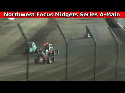 Grays Harbor Raceway, August 28, 2021, Northwest Focus Midgets Series A-Main - dirt track racing video image