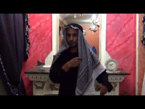 Anleitung für Araber Kopfbedeckung - Scheich Kostüm im Saudi-Style bei Egyptbazar Online Shop - UCuxHh2UkR4NDxPl1etQQKwA