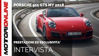 Porsche 911 GTS Driving Experience, INTERVISTA SPECIALE con il maestro Alessandro Baccani