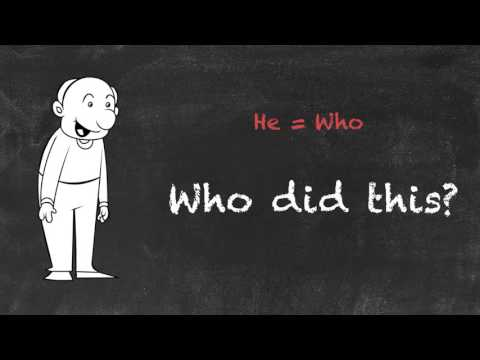 Who vs Whom - English Grammar - Teaching Tips