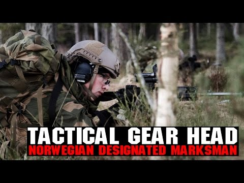 Norwegian Designated Marksman Tactical Gear Heads | H&K 417 DMR & More! | AIRSOFTGI.COM