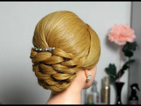 Bridal prom updo hairstyle for long hair. - UCBDR4TSiuXpWFNSA4cxPp6g