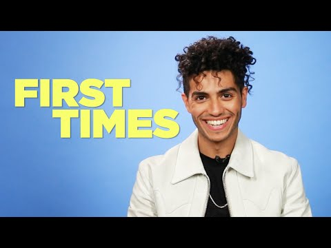 """Aladdin"" Star Mena Massoud Tells Us About His First Times"