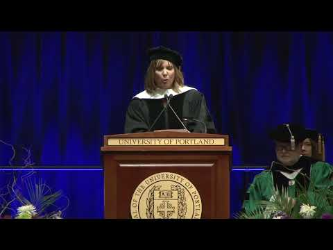 2018 UP Commencement Speaker, Hannah Storm
